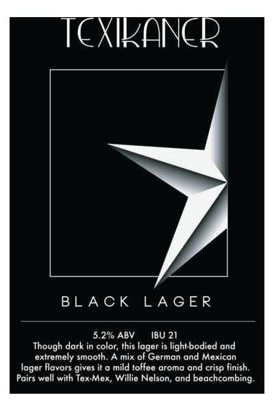 Pegasus City Texikaner Black Lager