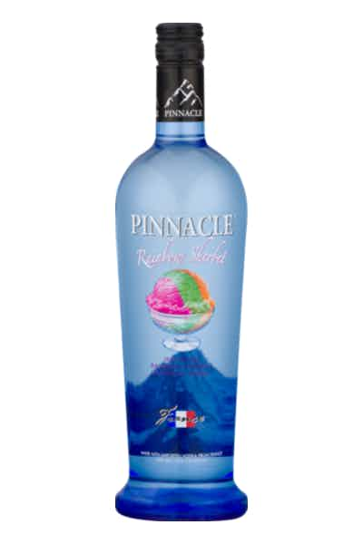 Pinnacle Rainbow Sherbert Flavored Vodka