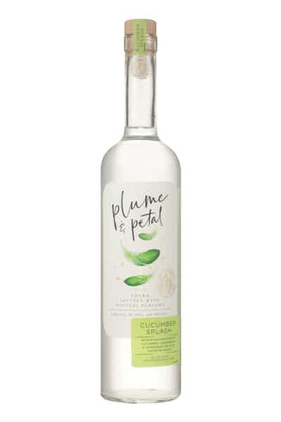 Plume & Petal Cucumber Splash Vodka