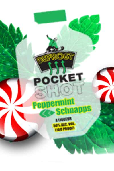 Pocket Shot Peppermint Schnapps