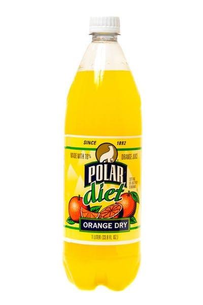 Polar Diet Orange Dry Seltzer