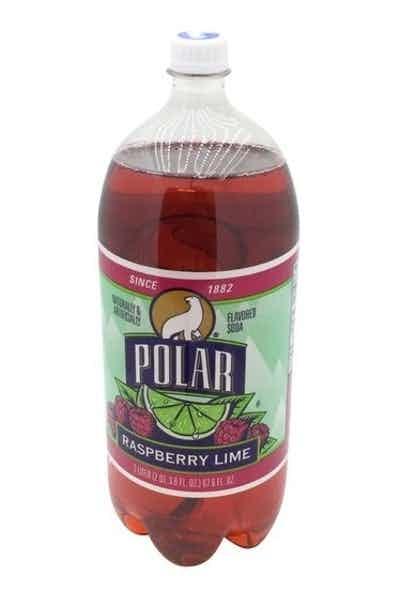 Polar Raspberry Lime Soda