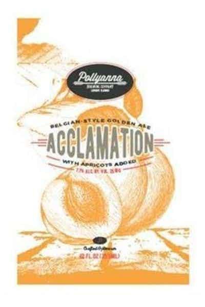 Pollyanna Acclamation Belgian Style Golden Ale