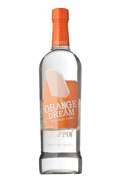 Poppin' Orange Dream Vodka