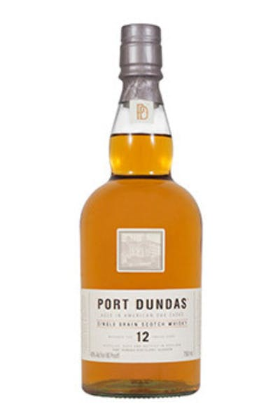 Port Dundas Single Grain Scotch