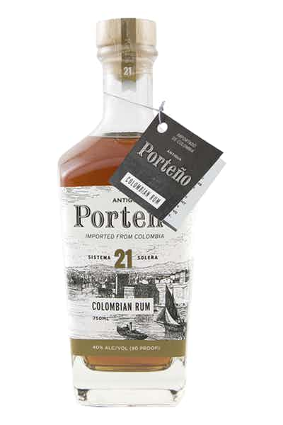 Porteno Colombian Rum Solera 21 Year