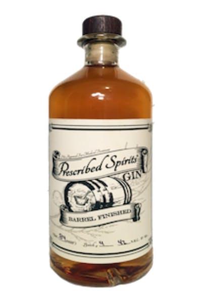 Prescribed Spirits Barrel Finished Gin