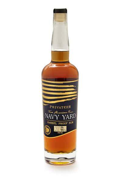 Privateer Navy Yard Cask Strength Rum
