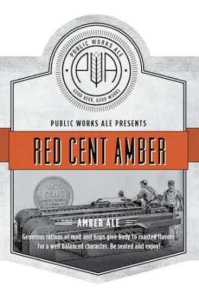 Public Works Red Cent Amber