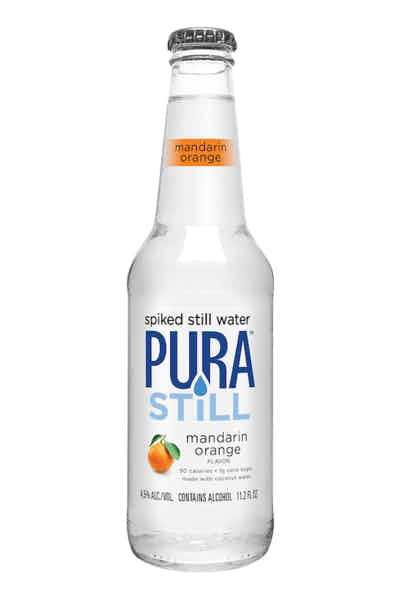 Pura Still Spiked Still Water Mandarin Orange