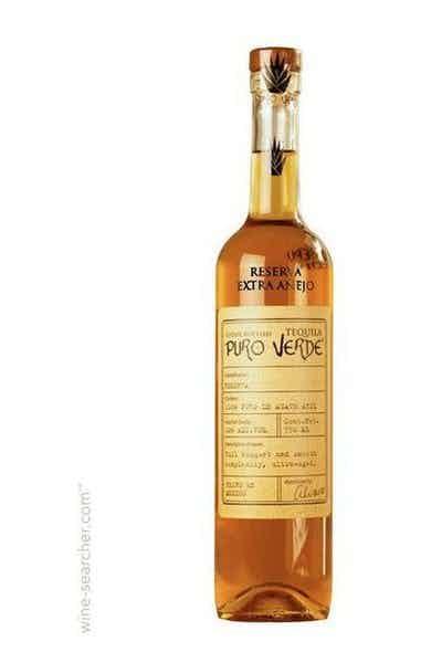 Puro Verde Extra Anejo Reserva Tequila