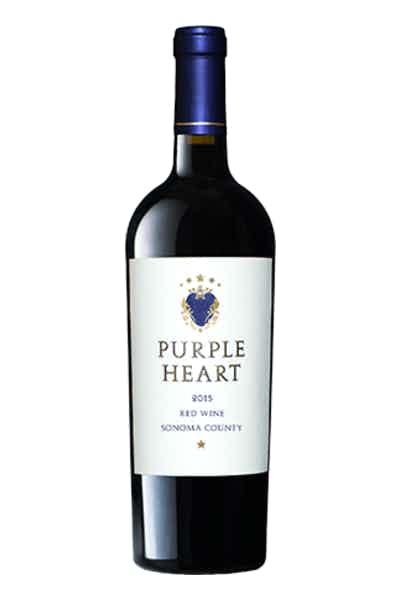 Purple Heart Red Wine