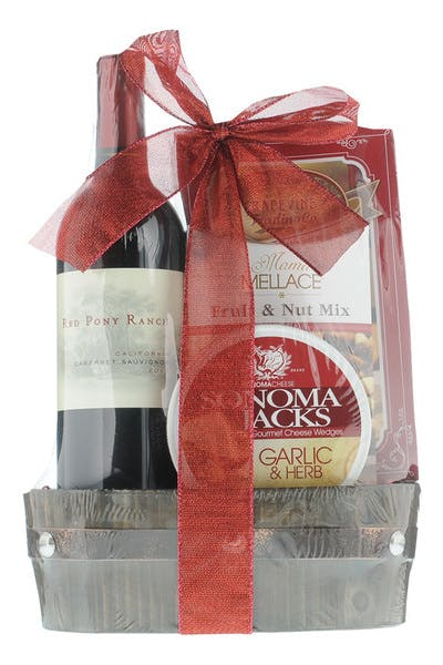 Red Pony Ranch Chardonnay Gift Basket
