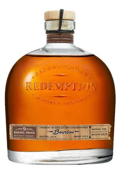 Redemption 9 Year-Old Barrel Proof Bourbon