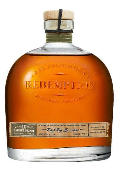Redemption 10 Year Old High Rye Bourbon Barrel Proof