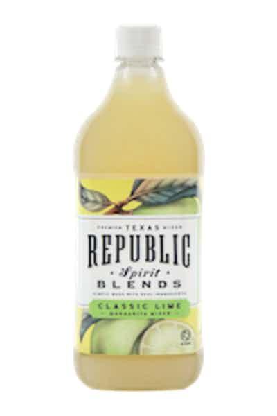 Republic Spirit Classic Lime Margarita Mix