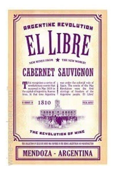 Revolution El Libre Cabernet Sauvignon