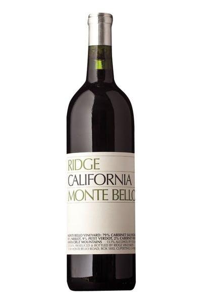 Ridge Montebello Cabernet 2008