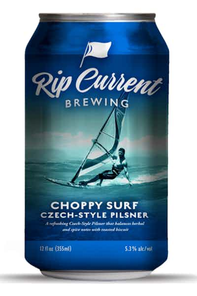 Rip Current Choppy Surf Czech Style Pilsner