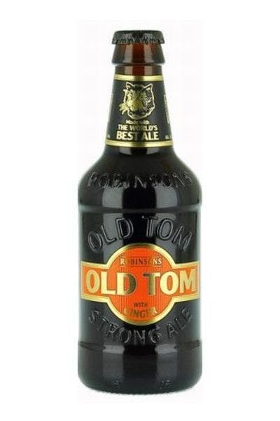 Robinson's Old Tom Strong Ale with Ginger