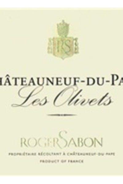 Roger Sabon Chateauneuf Du Pape Les Olivets 2013