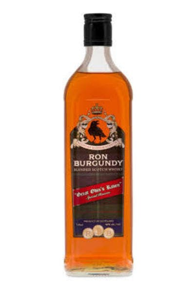Ron Burgundy Scotch