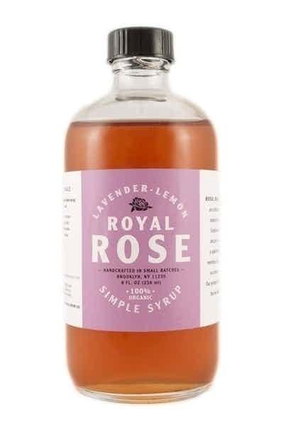 Royal Rose Lavender Lemon Simple Syrup
