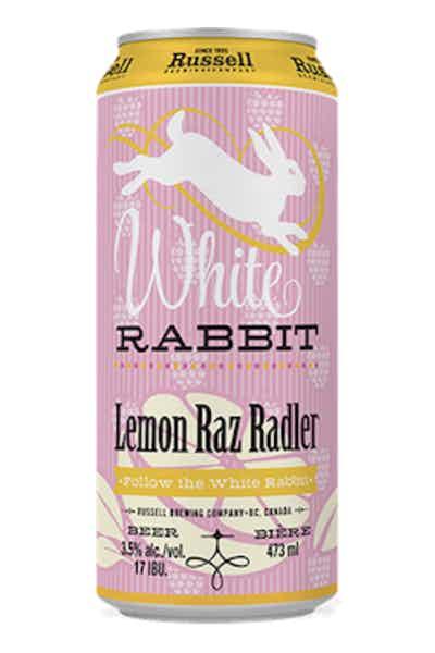 Russel White Rabbit Lemon Raz Radler