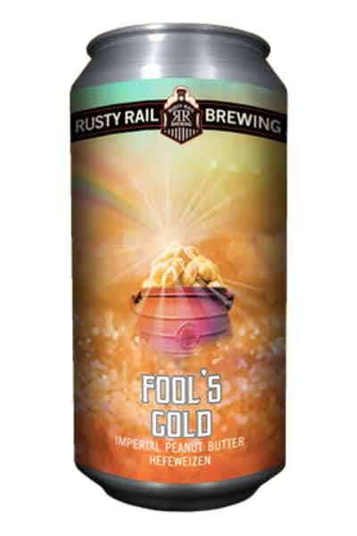 Rusty Rail Fool's Gold Imperial Peanut Butter Hefeweizen