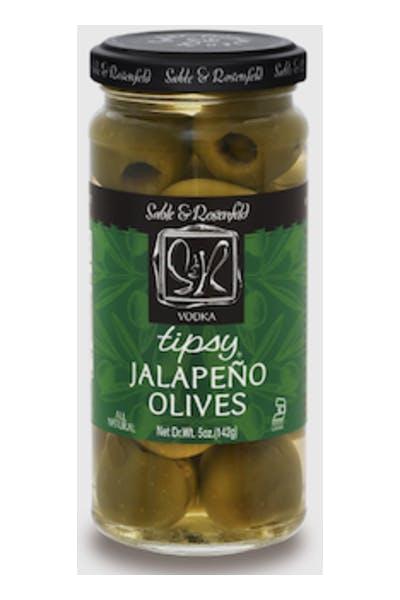 Sable & Rosenfeld Vodka Jalapeno Tipsy Olives