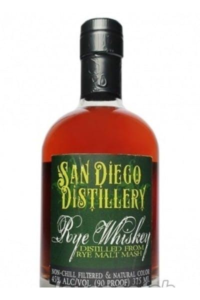 San Diego Distillery Rye Whiskey