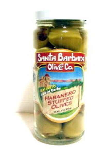 Santa Barbara Habanero Stuffed Olives