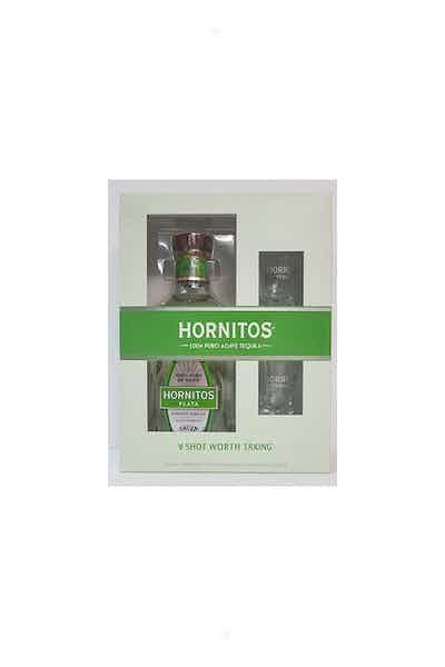 Sauza Hornitos Plata Tequila Shot Glass Gift Set