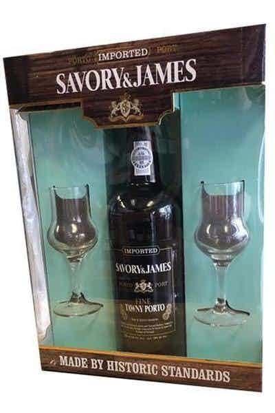 Savory & James Tawny Port Gift Set