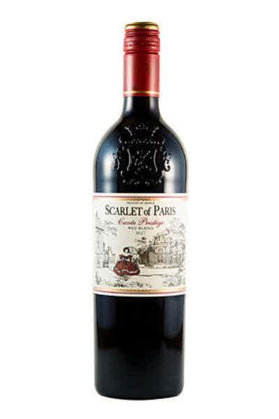 Scarlet of Paris Cuvée Prestige Red Blend