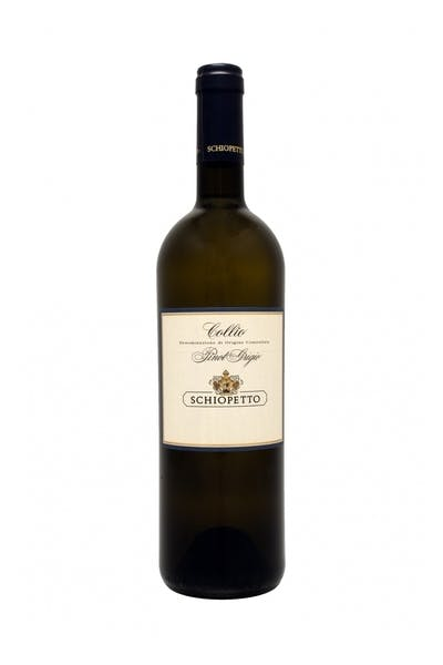 Schiopetto Pinot Grigio 2014