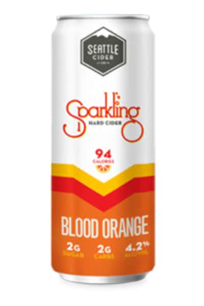 Seattle Sparkling Blood Orange Hard Cider