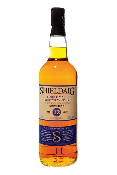 Shieldaig Speyside Single Malt 12yr