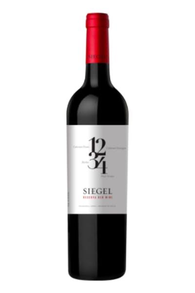 Siegel 1234 Red Blend