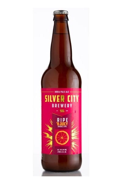 Silver City Ripe 'N Juicy Double IPA