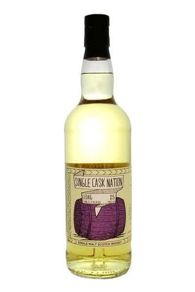 Single Cask Nation Ledaig Scotch 15 Year