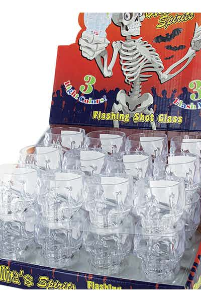 Skullie Halloween Shot Glasses
