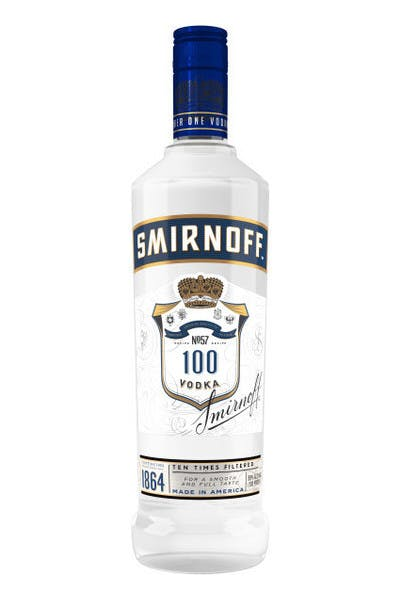 Smirnoff No. 57 100 Proof Vodka