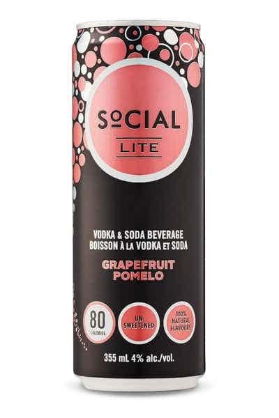 Social Lite Grapefruit Pomelo