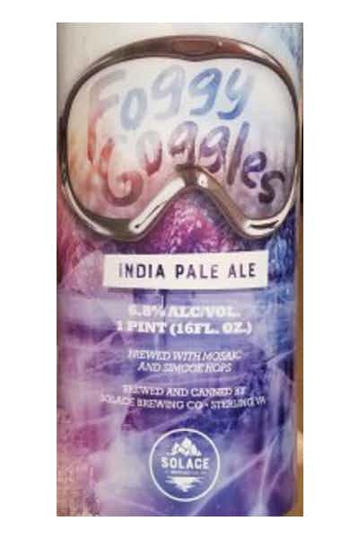 Solace Brewing Foggy Goggles IPA