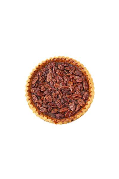 Maple Pecan Pie made with Crown Royal Deluxe Whisky
