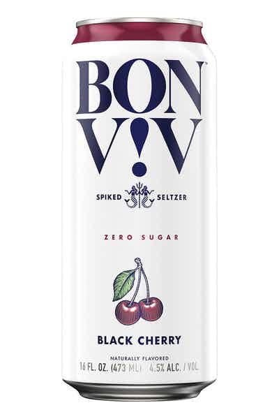 BON V!V Spiked Seltzer Black Cherry