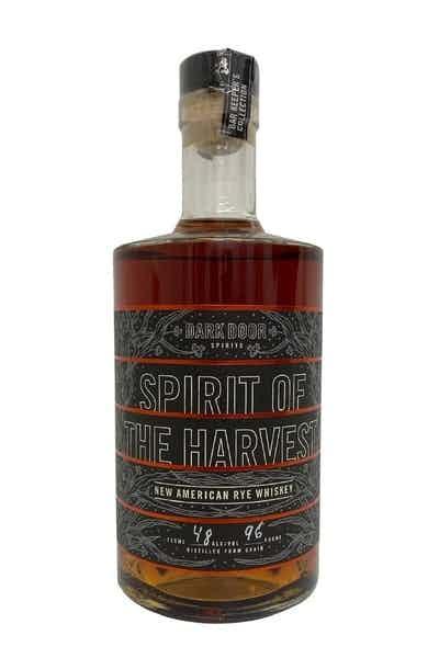 "Dark Door Spirits ""Spirit of the Harvest"" Rye Whiskey"