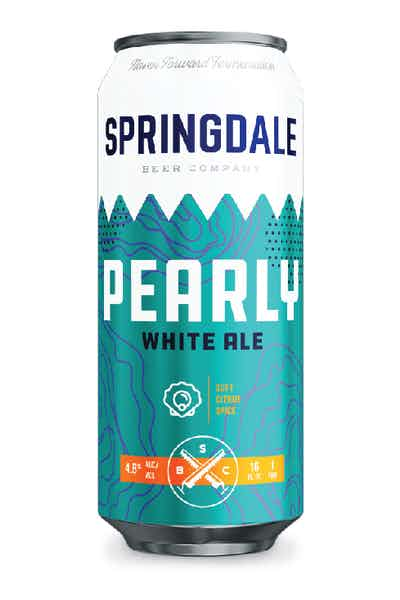 Springdale Pearly White Ale