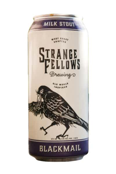 Strange Fellows Blackmail Milk Stout